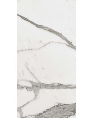 Luxury Tiles Verona Carrara Matt Marble effect Wall and Floor Tile 600x300mm