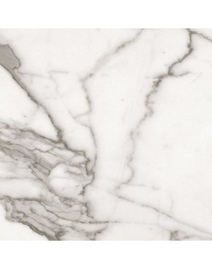 Luxury Tiles Verona Carrara Polished Marble effect Wall and Floor Tile 800x800mm