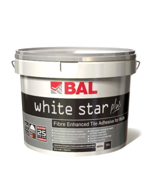 Luxury Tiles White Star Plus Wall Tile Ready Mixed Adhesive 15kg