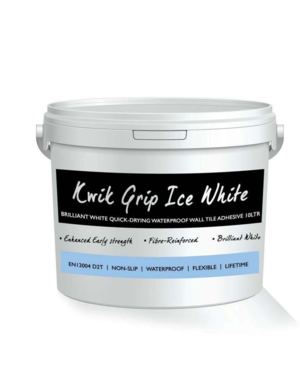 Luxury Tiles Kwik Grip Ice White Wall Tile Adhesive 15kg