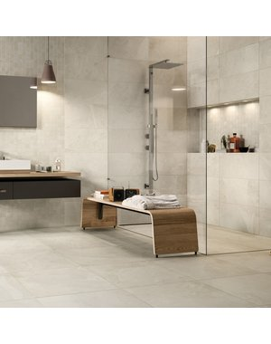 Luxury Tiles Everest White Indoor & Outdoor Wall and Floor Tile