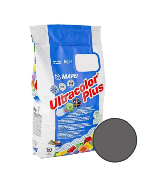 Luxury Tiles Mapei Ultracolour Plus 119 London Grey Tile Grout 5 Kg