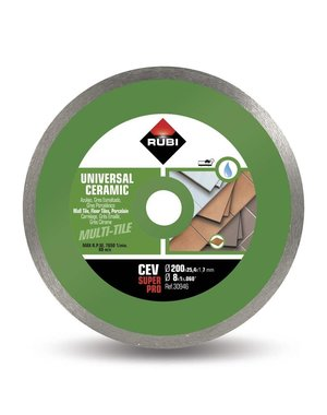 Rubi Tools 200mm CEV Diamond Blade SuperPro