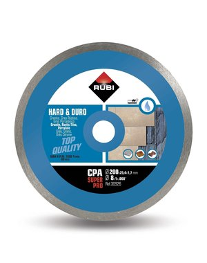 Rubi Tools CPA 200mm Hard Materials Diamond Blade
