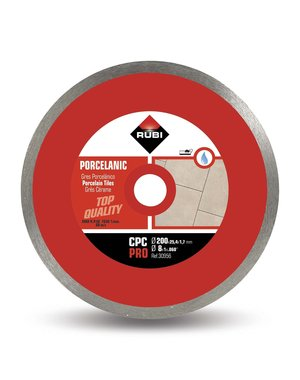 Rubi Tools CPC2 200mm Porcelain Tile Diamond Blade