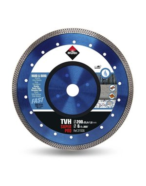 Rubi Tools TVH 200mm Hard Materials Diamond Blade