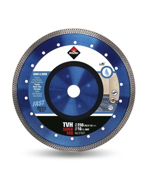 Rubi Tools TVH 250mm Hard Materials Diamond Blade