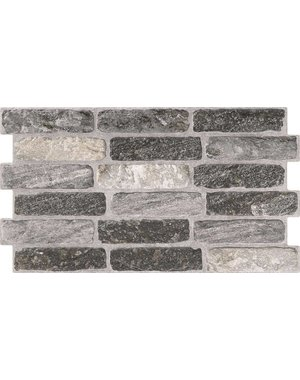 Luxury Tiles Windsor Grey Mixture Brick Slip Tile