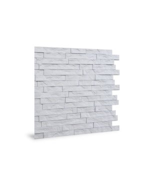 Luxury Tiles DIY White Split Face Effect 3D Wall Tile