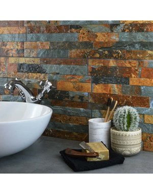 Luxury Tiles Parnassus Rustic Grey Split Face Cladding