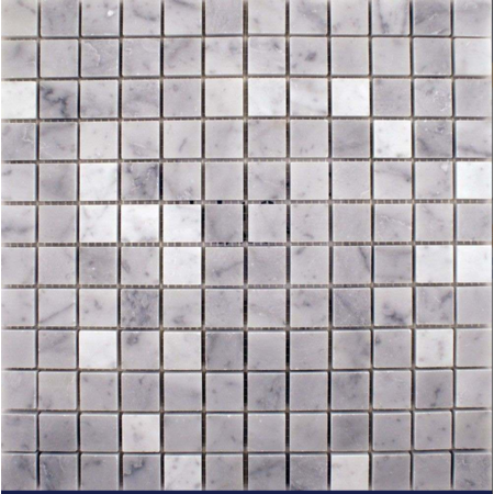 Luxury Tiles White Grey Marble Wall and Floor Mosaic Tile 305x305mm