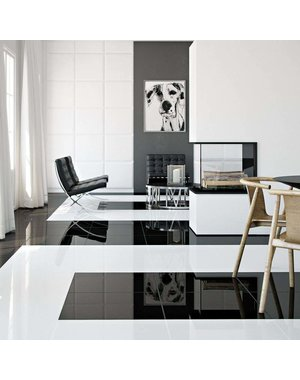 Luxury Tiles Mayfair White Diamond Gloss 61.5x61.5cm Floor Tile