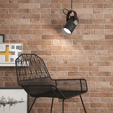 Luxury Tiles Stone Red Rustic Brick Floor and Wall Tile 25x6cm