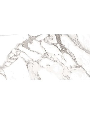 Luxury Tiles Treviso White Marble Effect Porcelain Tile 60x30cm