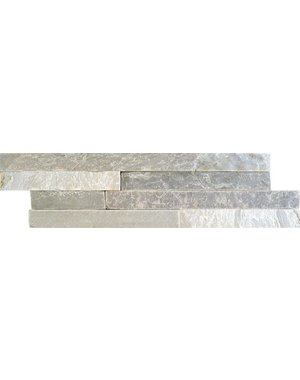 Luxury Tiles Quartz White Matt Split Face Wall Tile