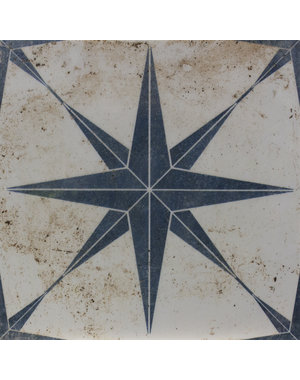 Luxury Tiles Madrid Star Blue 290x290mm Floor and Wall Tile