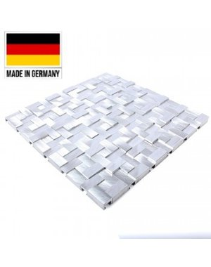 Luxury Tiles Mosaic and  Aluminium Silver Star 3D Tile