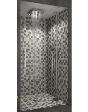 Luxury Tiles Concrete Grey Square Stone Mix  Mosaic Tile