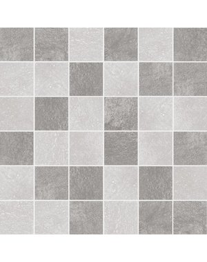 Luxury Tiles Urban Gris Square Stone Mosaic Tile