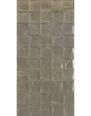 Luxury Tiles Cappuccino Marble Mosaic Effect Wall Tile