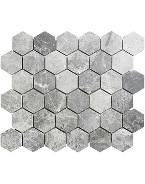 Luxury Tiles Mosaic Marble Moon Wall and Floor Tile 30.5cm x 26.5cm