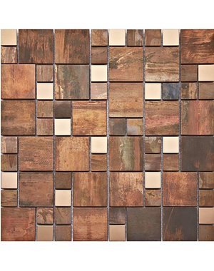 Luxury Tiles Walnut Birch Wall and Floor Tile 30cm x 30cm