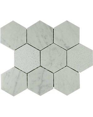 Luxury Tiles Geometric Thunder Wall and Floor Tile 30cm x 28.5cm