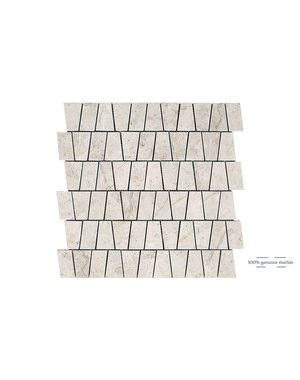 Luxury Tiles Silver Light Kensington Wall and Floor Tile 30.5cm x 30.5cm