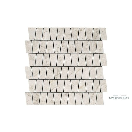 Luxury Tiles Silver Light Kensington Wall and Floor Tile 30.5cm x 30.5cm