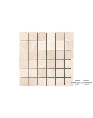 Luxury Tiles Crema Marfil Square Wall and Floor Tile 30.5cm x 30.5cm