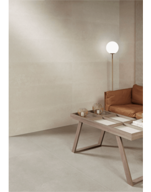 Aliza Cream Limestone Effect 600x300mm Porcelain Matt Wall and Floor Tile