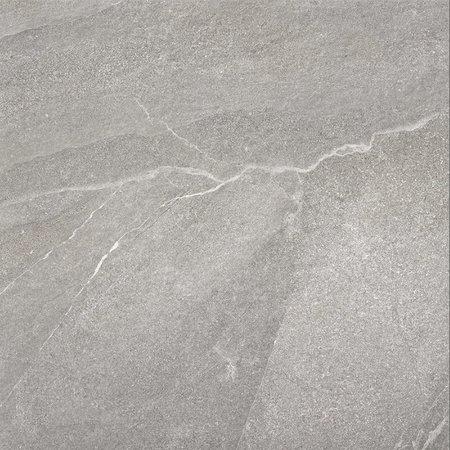 Luxury Tiles XL Venice Grey Stone Effect Anti Slip Porcelain Floor Tile 1000x1000mm