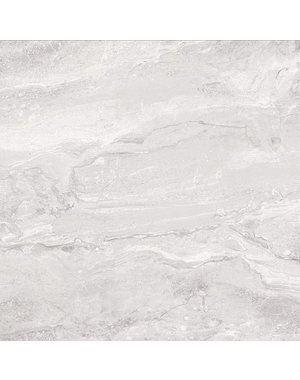 Luxury Tiles Norway Skies Grey Marble Effect Tile 80x80cm