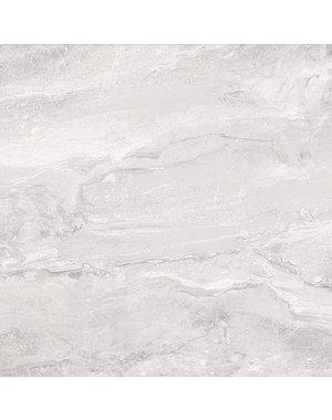 Luxury Tiles Norway Skies Grey Marble Effect Tile 80x80cm