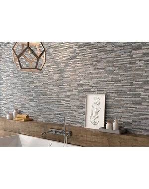 Luxury Tiles Oteca Grey Porcelain Split Face Tile