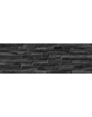 Luxury Tiles Oteca Black Porcelain Split Face Tile