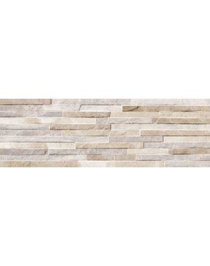 Luxury Tiles Oteca Beige Porcelain Split Face Tile