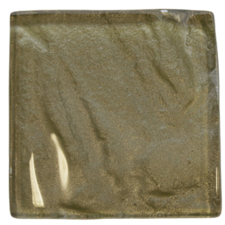 Luxury Tiles Reflection Textured Soft Gold Glass 100x100mm Square Tile