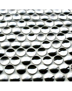 Craft Ceramics Orbital Chrome Mosaic Tile