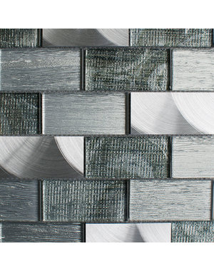 Craft Ceramics Portland Green Brick Mosaic Tile