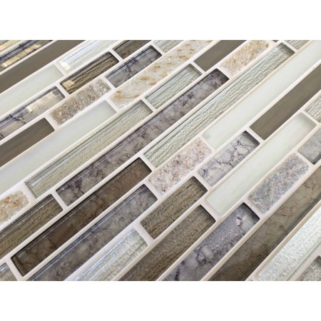Craft Ceramics Elements Dolomite Glass and stone Marble effect Mosaic Tile