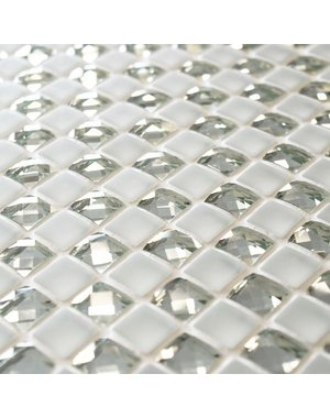 Craft Ceramics Jewel Manhattan Star Glass Mosaic Tile