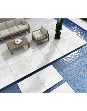 Luxury Tiles County Hammer stone Grey 60x60x20mm Tile