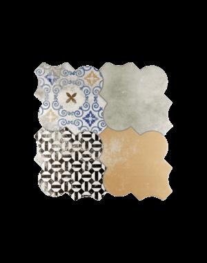Luxury Tiles Rimini Vintage Floor & Wall Tile 450x450mm