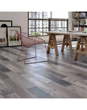 Luxury Tiles Montenegro Grey Grain Wood Effect 90x15cm