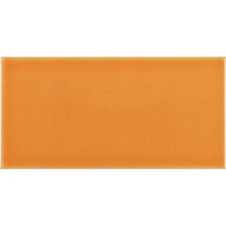Luxury Tiles Metro Flat Naranja Gloss Tiles