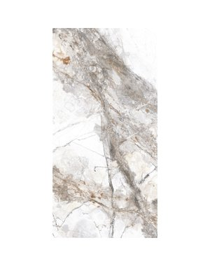 Luxury Tiles Savona Marble Gloss Porcelain 30cm x 60cm Wall & Floor Tile