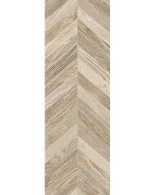 Luxury Tiles Chevron Light Oak Wood Effect