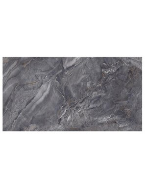 Luxury Tiles Dark Gris Diamond Polished Marble Effect Tile 1200x60mm