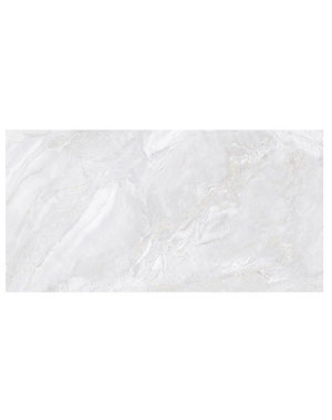 Luxury Tiles White gris Diamond Polished Marble Effect Tile 1200x60mm